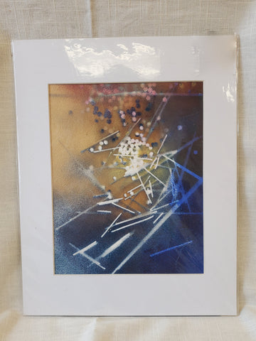 Matted Space Spray 11x14