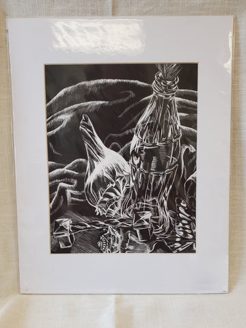 Original Aluminium Etching