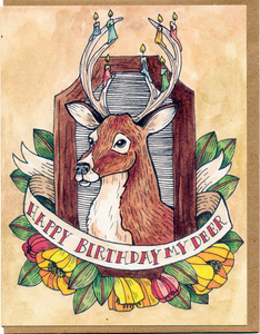 Happy Birthday My Deer Card