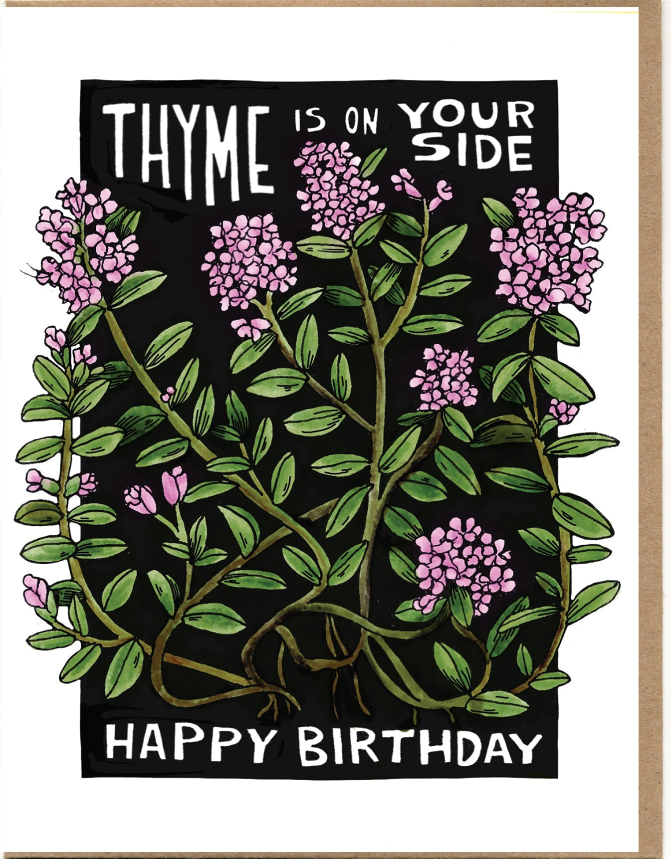 Thyme Is On Your Side, Happy Birthday