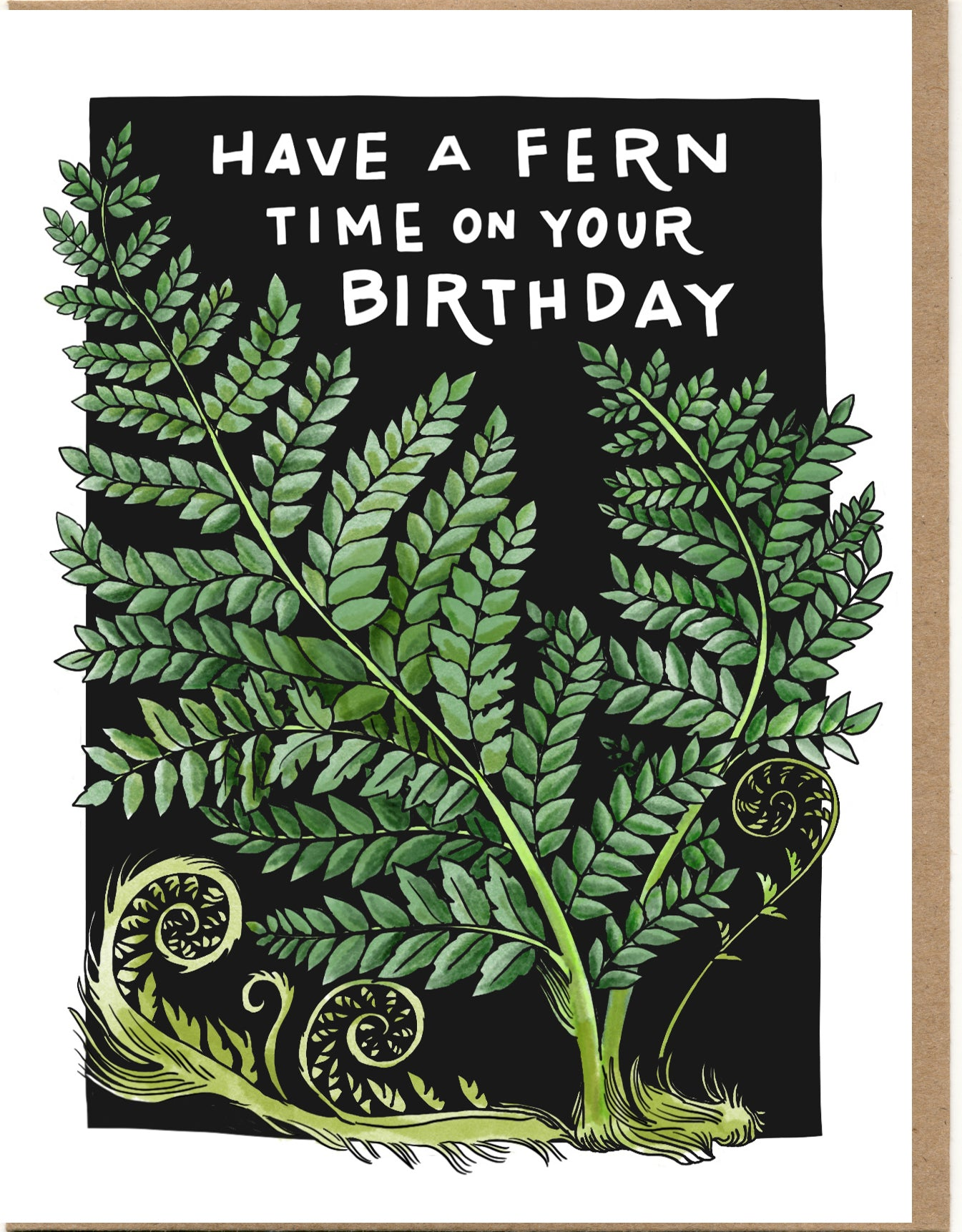 Have A Fern Time On Your Birthday