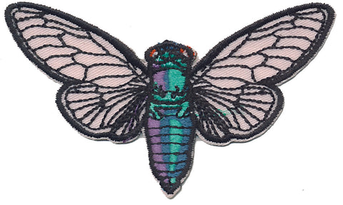 Cicada iron-on Patch