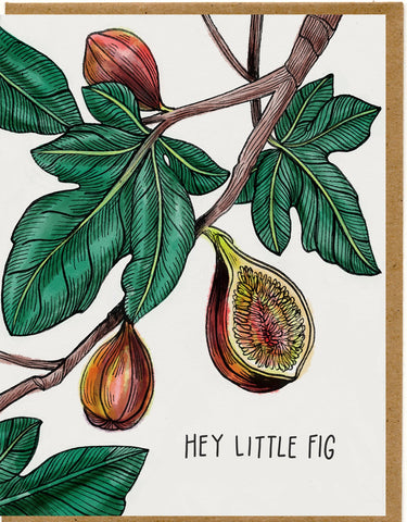 Hey Little Fig Card