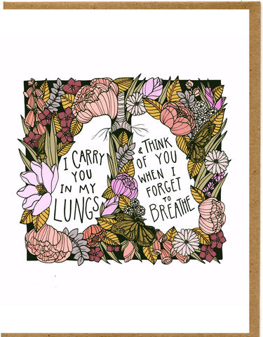 Lungs Card