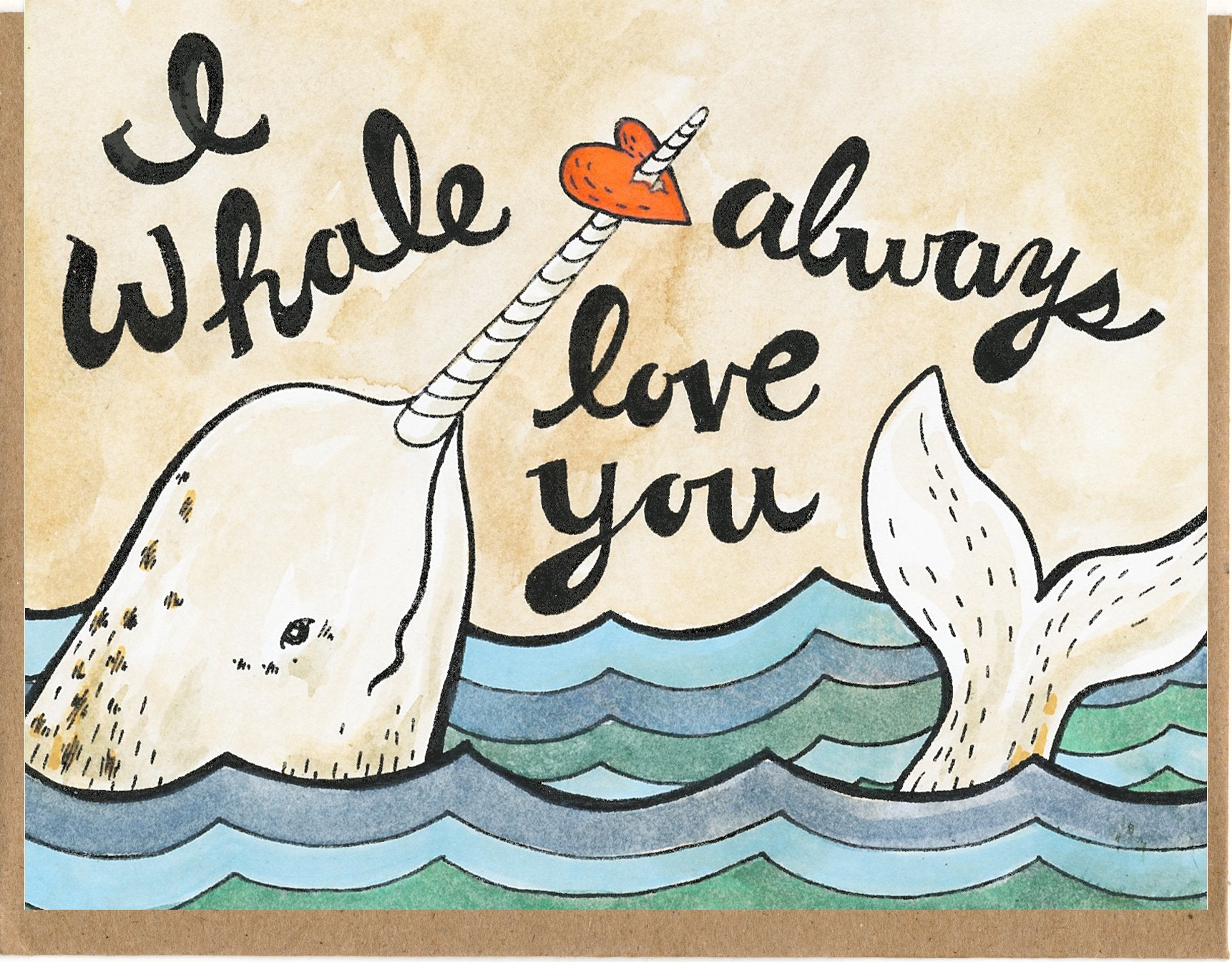 I Whale Always Love You Card