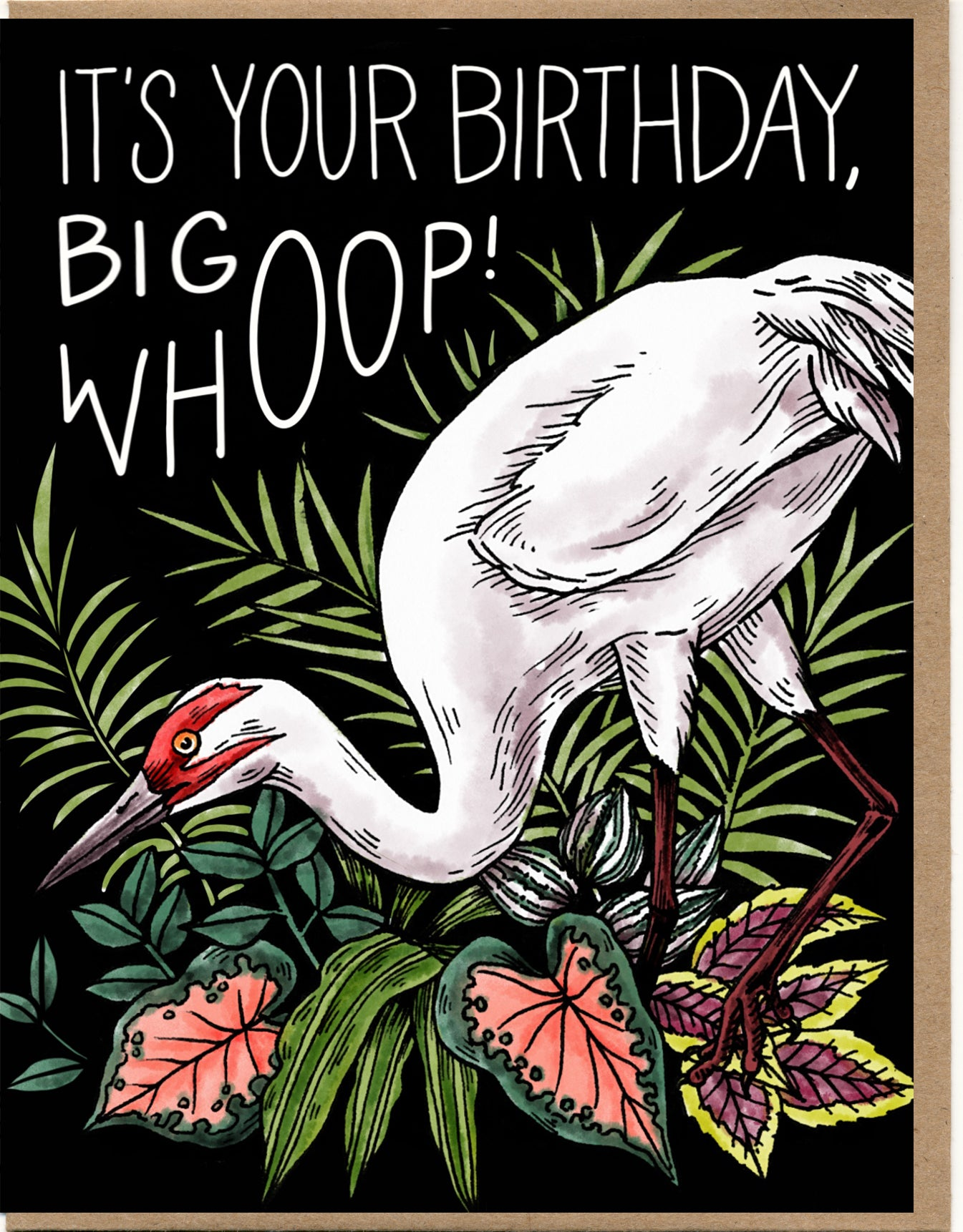 It's Your Birthday, Big Whoop! Card