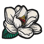 Magnolia In Bloom Iron-on Patch