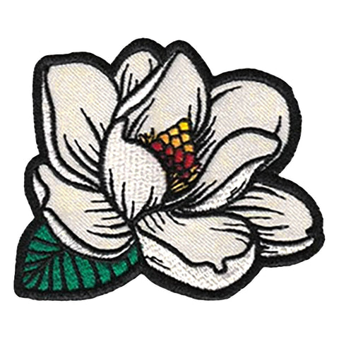 Magnolia In Bloom 3 in. Patch