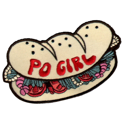 Po Girl 3 in. Patch