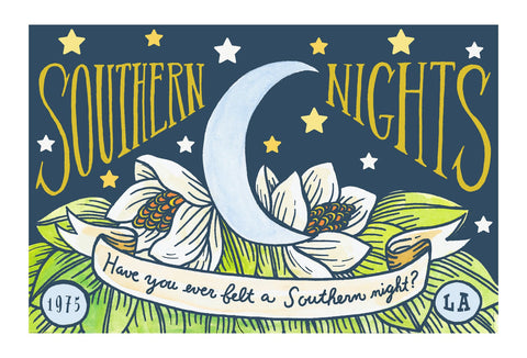 Southern Nights Postcard