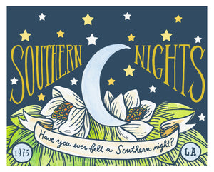 Southern Nights 8x10 Art Print