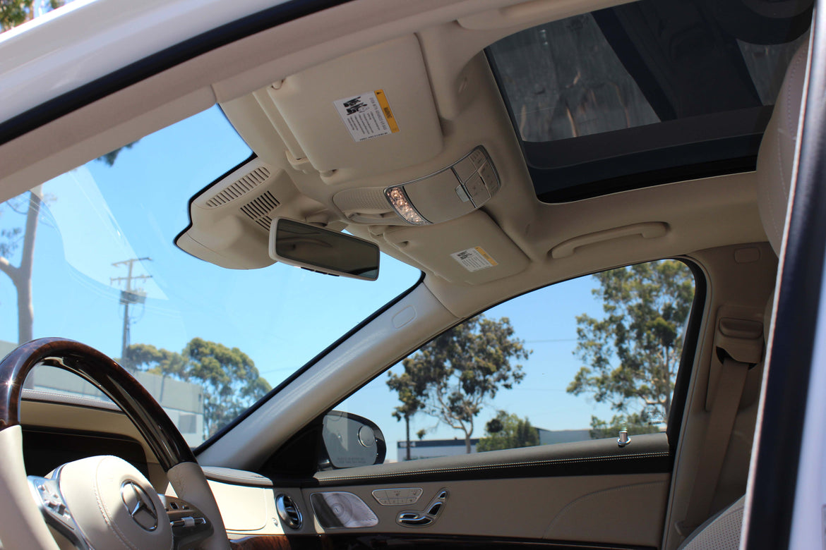 Front Windshield 70% <br> Side Window 35% <br> Sunroof 5%