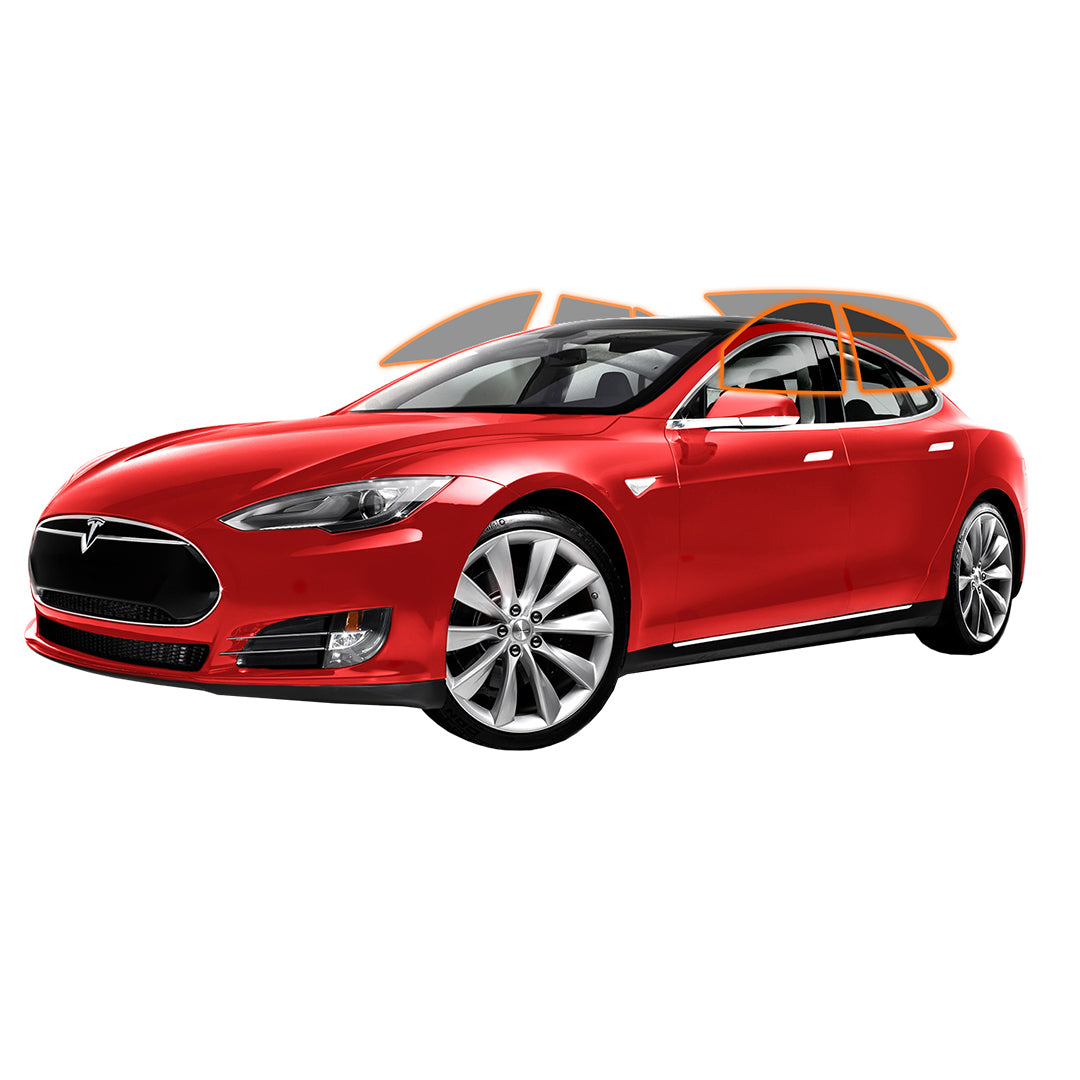 TESLA MODEL S - ALL SIDES + REAR PANORAMIC WINDOW