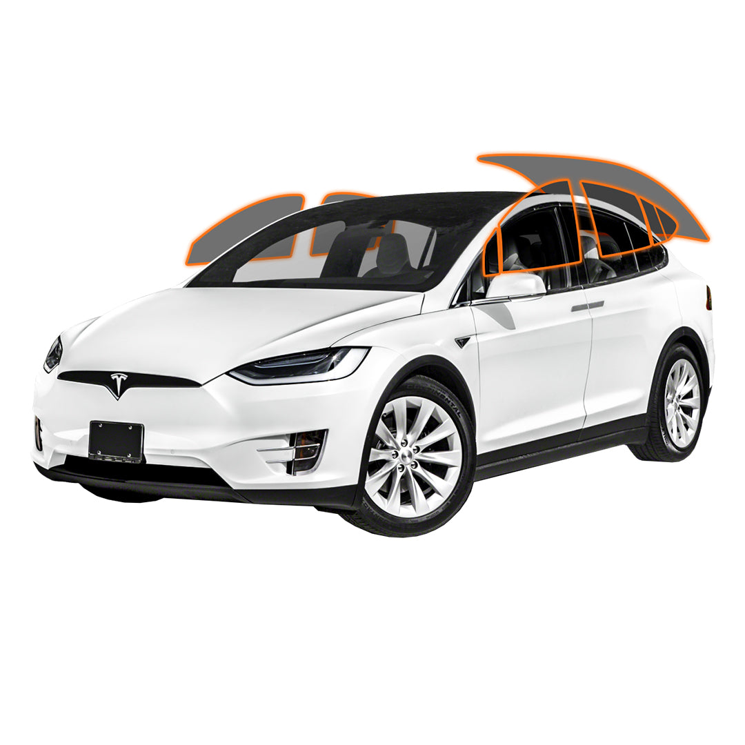 TESLA MODEL X - ALL SIDES + REAR PANORAMIC
