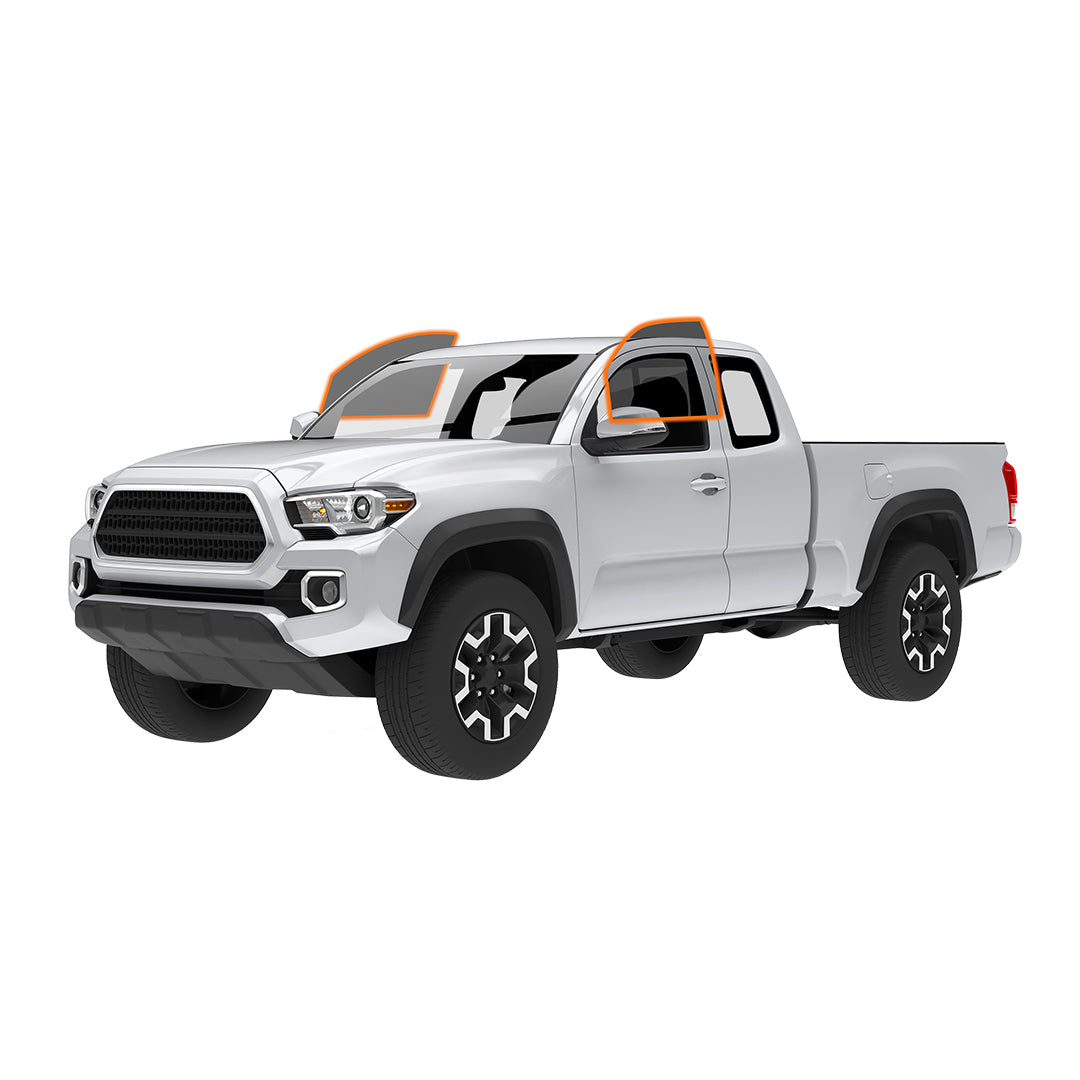 Extended Cab Truck - FRONT 2 WINDOWS