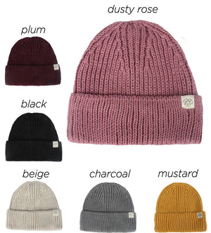 ABB410R - Recycled Knit Beanie