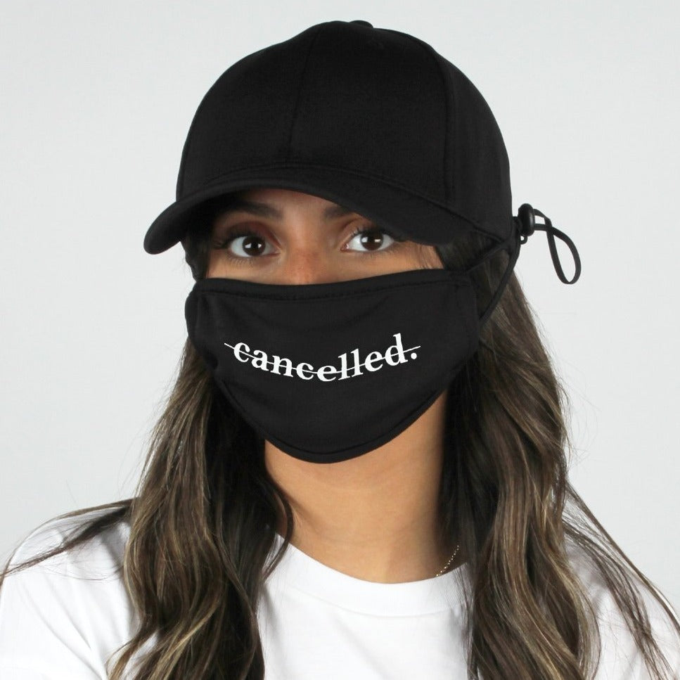 "ACAPMSK103 - ""Cancelled"" Antibacterial Coated Cap and Mask"