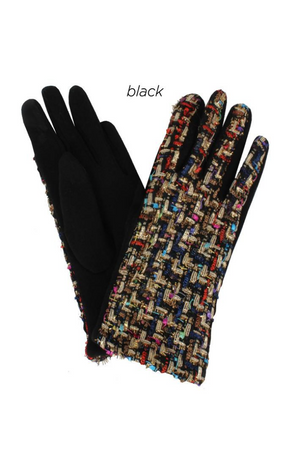 AGL7351 - Tweed Woven Gloves
