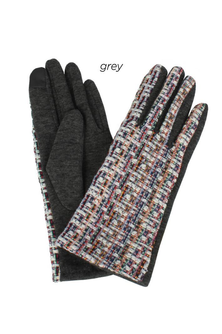 AGL7353 - Tweed Woven Gloves
