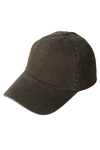 FWCAP4110 - Solid Snow Washed Baseball Cap