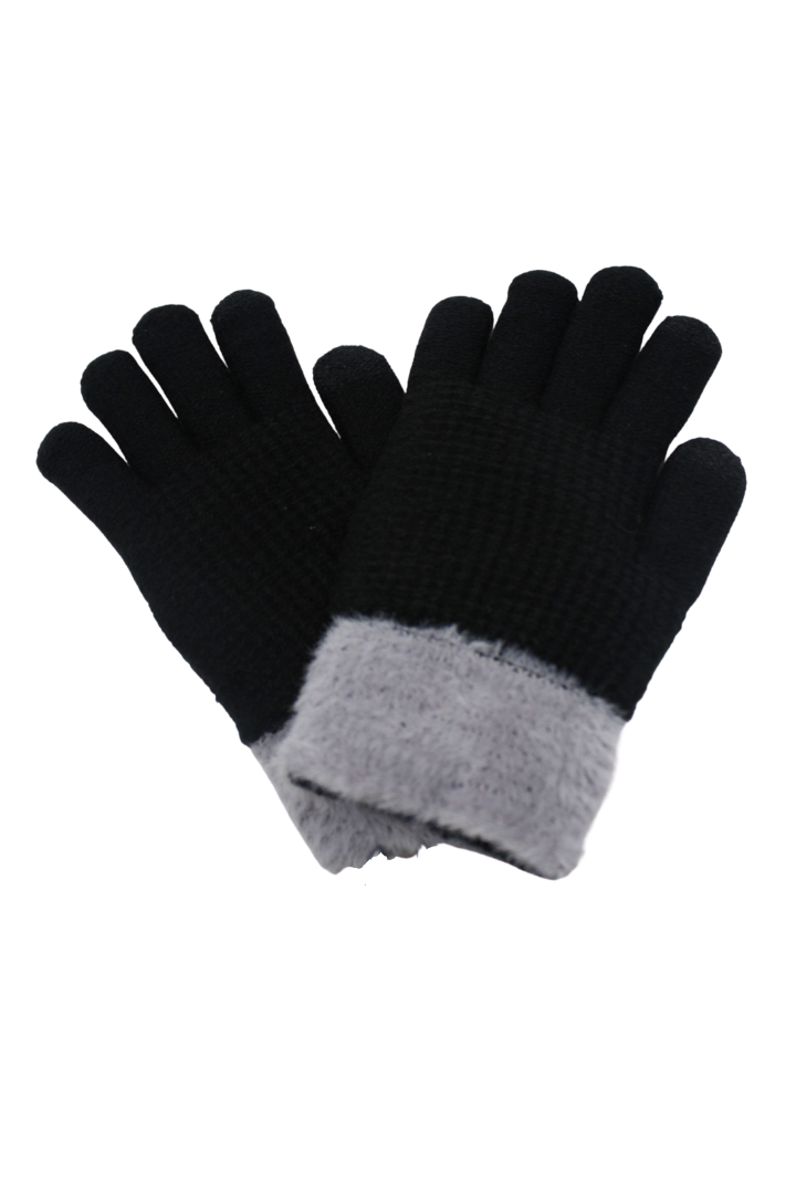 PTGL3501 - Textured Cuff Cozy Glove