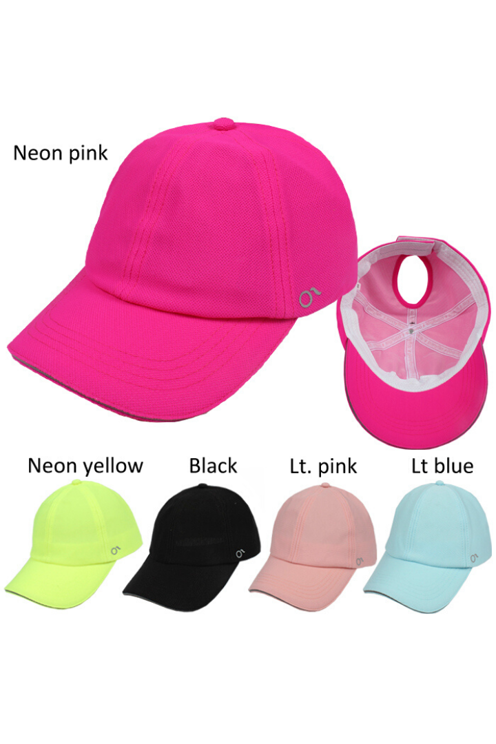 JRFWH39 - Active Kids Ponyflo Hat - David and Young Fashion Accessories