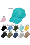 FWCAP4113 - Pigment Wash Distressed Baseball Cap with Adjustable Buckle - David and Young Fashion Accessories