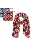 "PTSF4181 - Kaleidescope Print Lightweight Scarf 35""x70"" - David and Young Fashion Accessories"