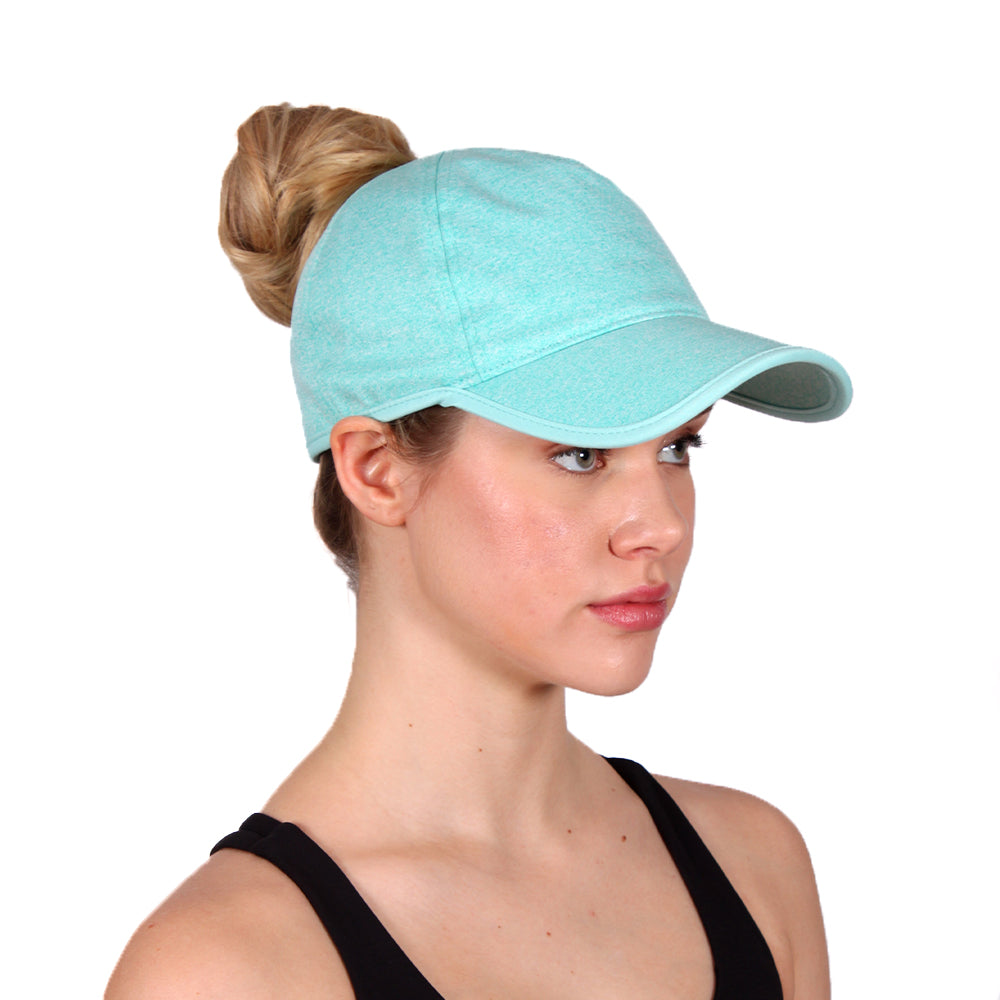 FWCAPT127 - Breathable Active Ponyflo Cap - David and Young Fashion Accessories