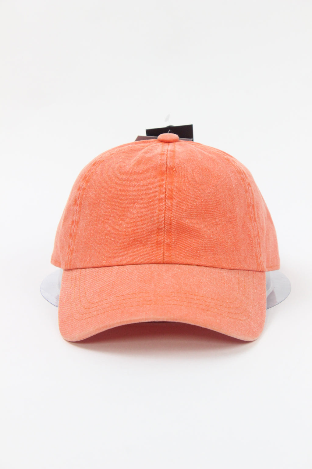 GWCAP18660 - Washed Twill 6 Panel Baseball Cap with Adjustable Velcro Closure - David and Young Fashion Accessories
