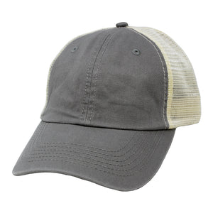 HCAPMT307 -  Solid Mesh Back Ponyflo Cap - David and Young Fashion Accessories