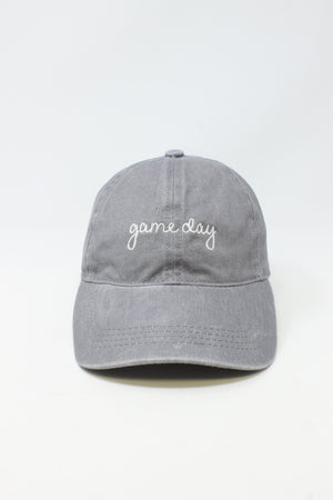 "LCAP157 - ""Game day"" on Vintage Wash Baseball Cap - David and Young Fashion Accessories"