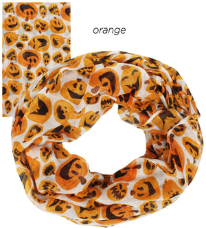 PTINF03568 - Expressive Pumpkins Infinity Scarf - David and Young Fashion Accessories