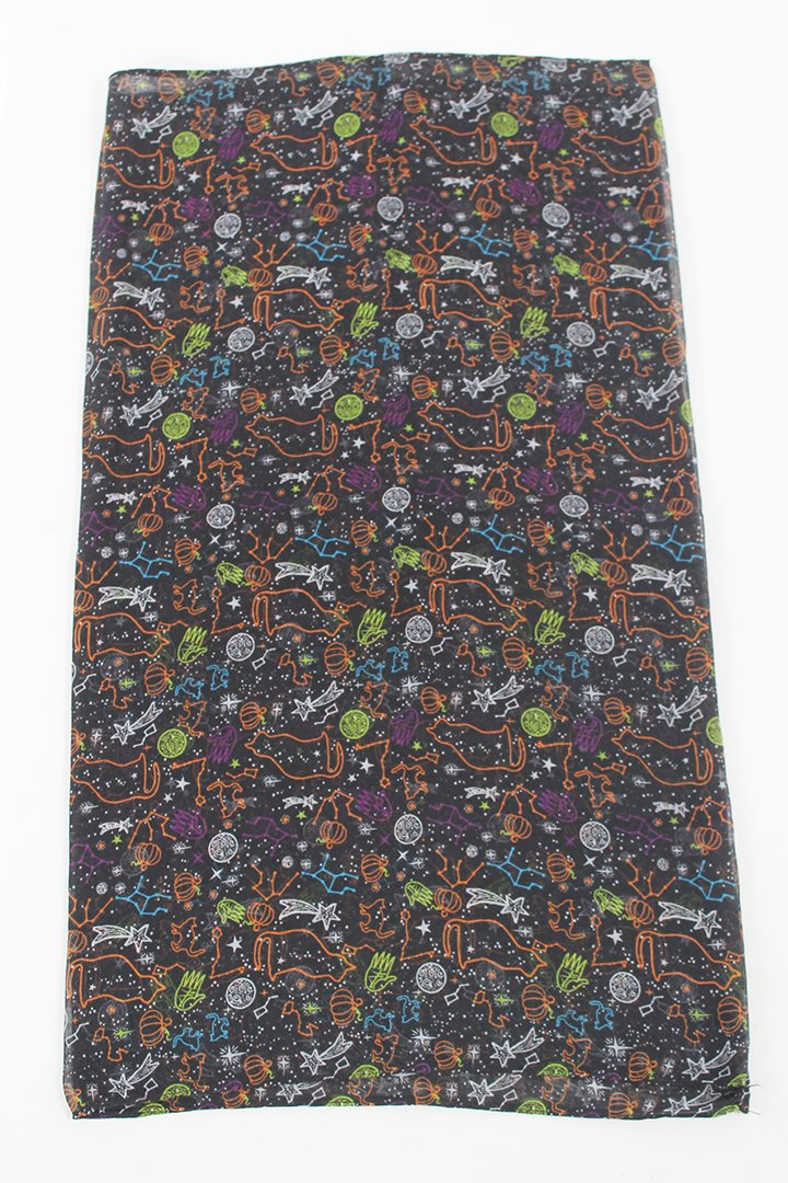 PTINF2004 - Halloween Astrocat Loop Scarf - David and Young Fashion Accessories