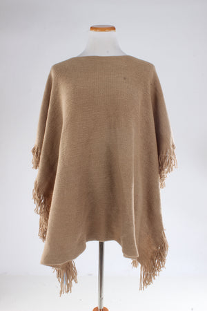 PTOPK2251 - Knit Shawl With Fringe
