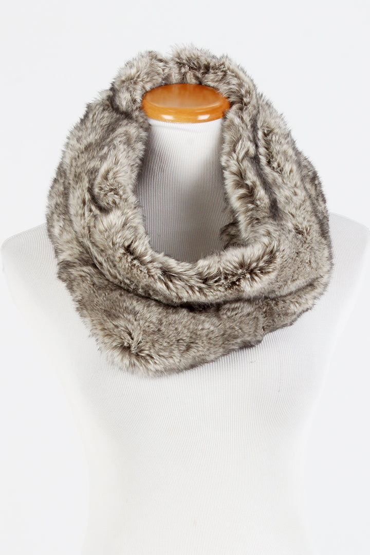 SGINFF9044 - Fur Cowl - David and Young Fashion Accessories