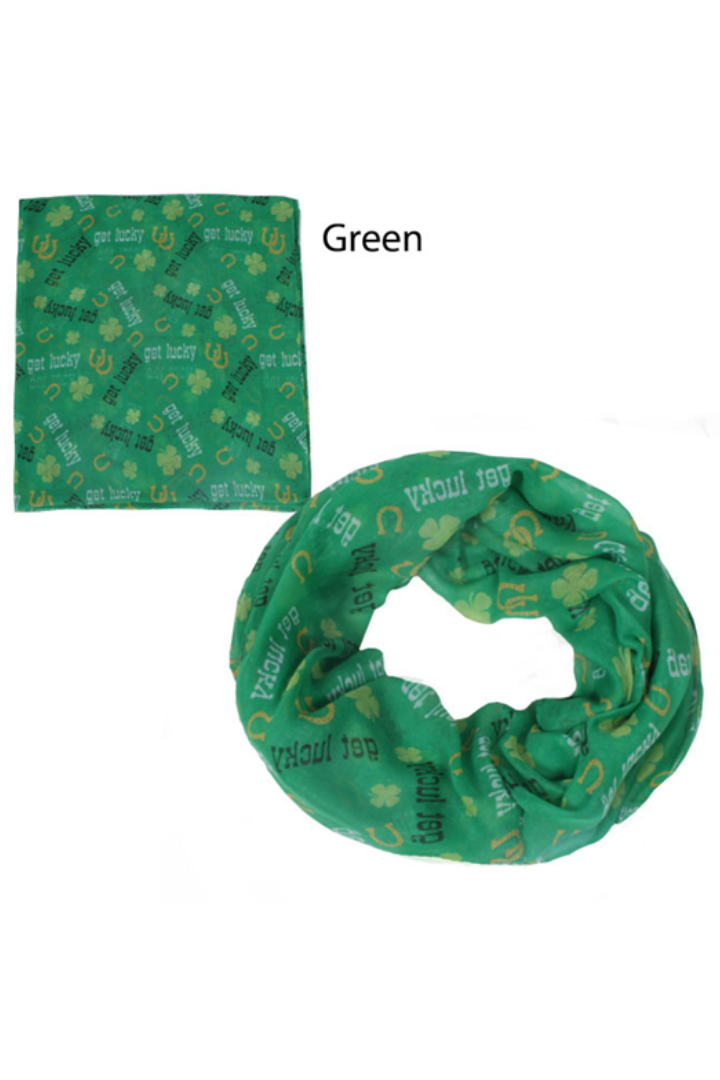 "PTINF07015 - ""Get Lucky"" Infinity Scarf 30X70 - David and Young Fashion Accessories"