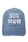FWCAP262 - 3D DOG MOM Embroidery Baseball cap