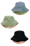 JCBU4605 - Solid two tones bucket hat