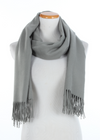 ZSFW3070 - Softer Than Cashmere Oversized Plain Scarf , 30 x 70