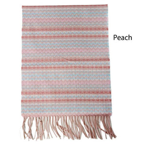 ZDB0804020 - Plaid Softer Than Cashmere™ - Cashmere Touch Scarves - David and Young Fashion Accessories