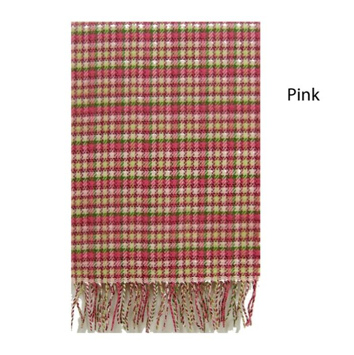 ZDB7161 - Plaid Softer Than Cashmere™ - Cashmere Touch Scarves - David and Young Fashion Accessories