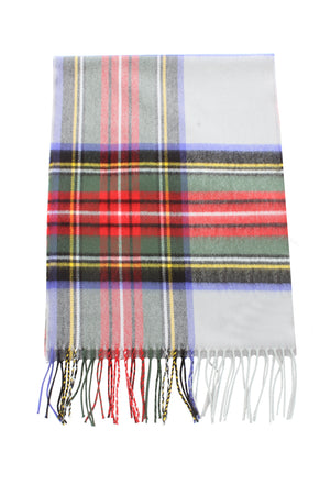 ZTW19008 - Plaid Softer Than Cashmere™ - Cashmere Touch Scarves - David and Young Fashion Accessories