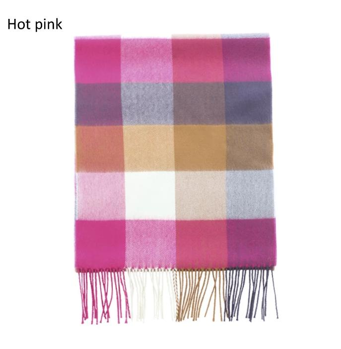 ZTW19015 - Plaid Softer Than Cashmere™ - Cashmere Touch Scarves - David and Young Fashion Accessories