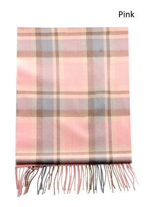 ZTW3452 - Plaid Softer Than Cashmere™ - Cashmere Touch Scarves - David and Young Fashion Accessories