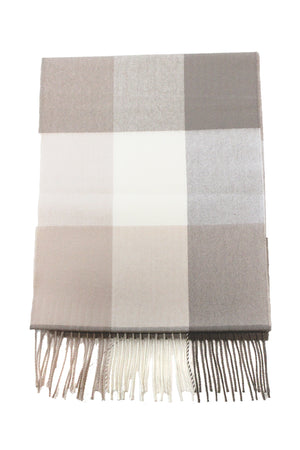 ZTW435 - Plaid Softer Than Cashmere™ - Cashmere Touch Scarves - David and Young Fashion Accessories