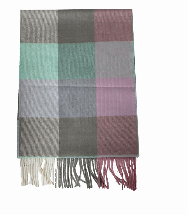 ZTW4514 - Plaid Softer Than Cashmere™ - Cashmere Touch Scarves - David and Young Fashion Accessories