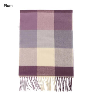 ZTW9713 - Plaid Softer Than Cashmere™ - Cashmere Touch Scarves - David and Young Fashion Accessories