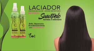 Laciador SuaviPelo - hair heat protector spray with hydrolysed silk, keratin and panthenol