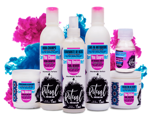 Ritual Afro Hair Care ® KIT 7 PACK - NATURALLY PERFECT -NATURALMENTE PERFECTO